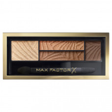 Max Factor Smokey Eye Drama Kit 2v1 oční stíny a pudr na obočí 3 Sumptuos Gold 1,8 g