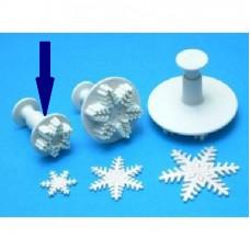 PME vykrajovačka, sněhová vločka malá, pr. 25 mm