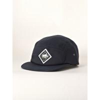 MAKIA FIVE PANEL CAP blue pánská kšiltovka