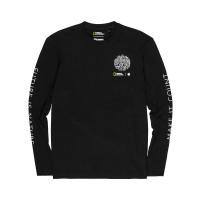 Element EARTH FLINT BLACK pánské tričko s dlouhým rukávem - M