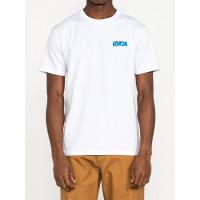 RVCA ROBERTO white pánské tričko s krátkým rukávem - M