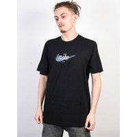 Nike SB FUTURA BLACK/THDRSTRM pánské tričko s krátkým rukávem - S
