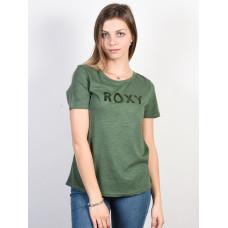 Roxy RED SUNSET A DUCK GREEN dámské tričko s krátkým rukávem - XS
