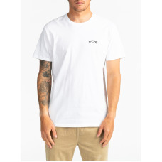Billabong ARCH WAVE white pánské tričko s krátkým rukávem - S
