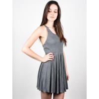 Element RANIA GREY společenské šaty krátké - L