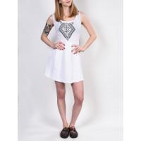 Element OSLO white společenské šaty krátké - M