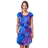 Horsefeathers MILLIE Tie Dye společenské šaty krátké - XL