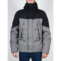 Element BLACK SKY PUFFA CHARCOAL HEATHER zimní bunda pánská - M