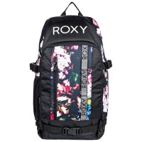 Roxy TRIBUTE TRUE BLACK BLOOMING PARTY snowboardový batoh