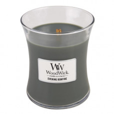 WoodWick dekorativní váza Evening Bonfire 275g