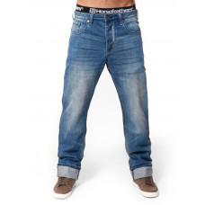 Horsefeathers GROUND LIGHT BLUE LIGHT BLUE značkové pánské džíny - 28