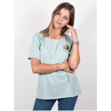 Burton ASHMORE SCOOP ETHER BLUE dámské tričko s krátkým rukávem - L