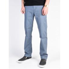 Dc WORKER STR CHINO BLUE MIRAGE plátěné sportovní kalhoty pánské - 30