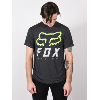 Fox Heritage Forger BLACK/GREEN pánské tričko s krátkým rukávem - M