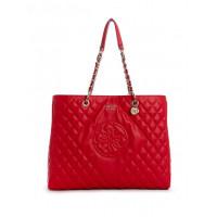 GUESS kabelka Sweet Candy Large Quilted Carryall červená vel.