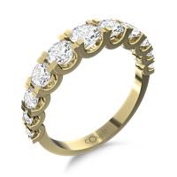 Couple Zlatý dámský prsten Avril 6610259 Velikost prstenu: 54