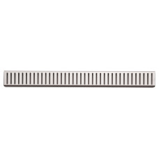 Alcaplast PURE-100L rošt podlahového žlabu lesklý 10cm doplněk roštu APZ1 (PURE-100L)