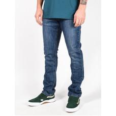 Rip Curl STRAIGHT TIDAL BLUE značkové pánské džíny - 38
