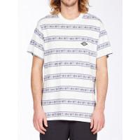 Billabong AUSTIN CREW off white pánské tričko s krátkým rukávem - M