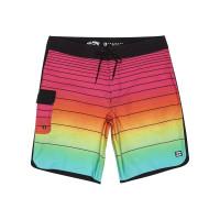 Billabong 73 STRIPE PRO neon pánské plavecké šortky - 32