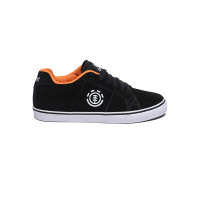 Element WINSTON BLACK ORANGE dětské letní boty - 36,5EUR
