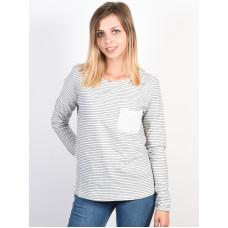 Roxy SLICE OF HEAVEN Marshmallow dámské tričko s dlouhým rukávem - M