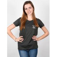 Element NEVER LOOK BACK OFF BLACK dámské tričko s krátkým rukávem - S