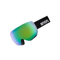 Anon MIG MFI BLACK/SONARGREEN pánské brýle na snowboard