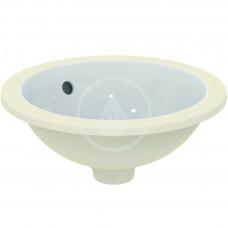 Ideal Standard Umyvadlo pod desku, průměr 380 mm, s přepadem, bílá E505201