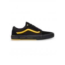 Vans Old Skool Pro BMX (Larry Edgar) black/yellow pánské letní boty - 41EUR