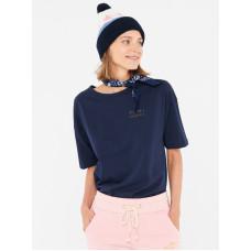 Femi Stories LOOSE NVY dámské tričko s krátkým rukávem - L