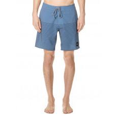RVCA CURREN TRUNK blue slate pánské plavecké šortky - 36
