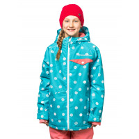 Horsefeathers ADRIEN curacao dots dětská zimní bunda - XL