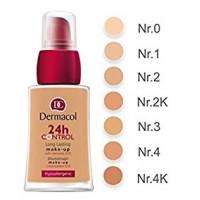 Dermacol 24h Control Make-Up 30ml - odstín 0