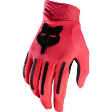 Fox DEMO AIR GLOVE NEON RED cyklistické rukavice - XL