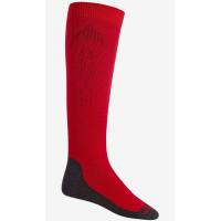 Burton EMBLEM PROCESS RED kompresní ponožky - S