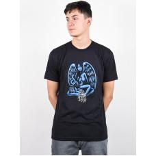 LIB Technologies JL ART black pánské tričko s krátkým rukávem - L