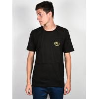 Ride Panther black pánské tričko s krátkým rukávem - S