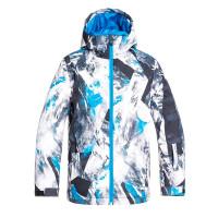 Quiksilver MISION PRINTED CLOISONNE RANDOM PICS dětské zimní bundy na snowboard - 12/L