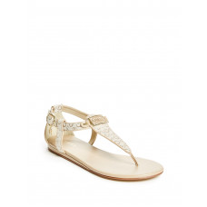 GUESS sandálky Shaila krémové vel. 37,5