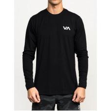 RVCA SPORT VENT black pánské tričko s krátkým rukávem - M