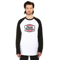 Horsefeathers CORNICK white pánské tričko s dlouhým rukávem - M