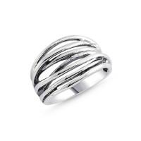 OLIVIE Stříbrný prsten 2070 Velikost prstenů: 7 (EU: 54 - 56)