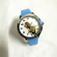 Dětské hodinky Jurský park - 2 barvy Barva: Modrý