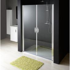 GELCO - ONE sprchové dveře do niky dvoukřídlé 980-1020 mm, čiré sklo, 6 mm (GO2810)