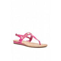 GUESS sandálky Jyll T-Strap Sandals růžové vel. 37,5
