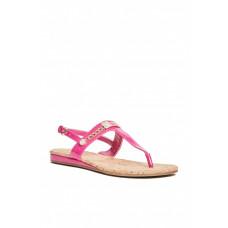 GUESS sandálky Jyll T-Strap Sandals růžové vel. 40