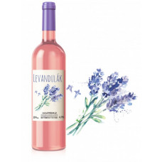 Levandulové víno 11% alkoholu