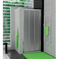 SanSwiss TOPS3 1200 50 22 Sprchové dveře třídílné 120 cm, aluchrom/durlux