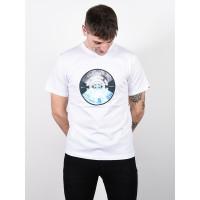 Element AIKEN OPTIC WHITE pánské tričko s krátkým rukávem - L